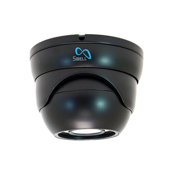 HDOD-SB2IRZB Sibell Quad eyeball dome 2 mega Pixel in Black front