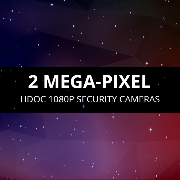 1080p HDOC Security cameras