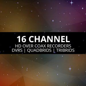 16 Channel DVRs