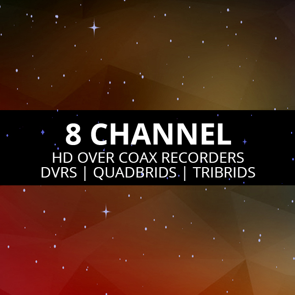 8 Channel DVRs