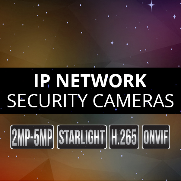 IP Network Security Cameras