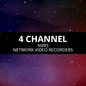 4 Channel NVRs