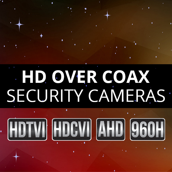 HD Over Coax Cameras