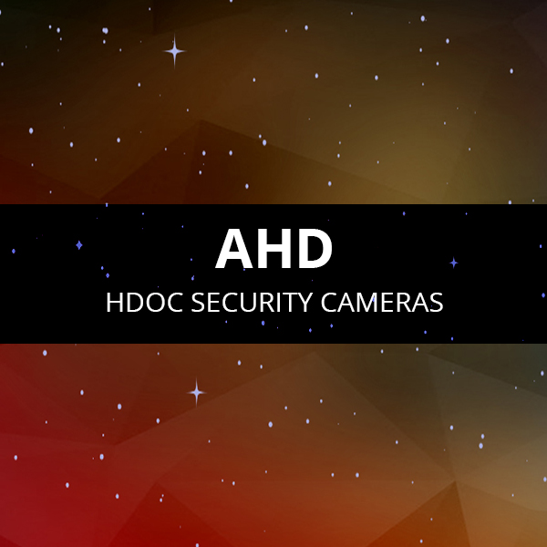 AHD Security Cameras