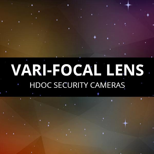 Vari-focal Lens Cameras HDOC