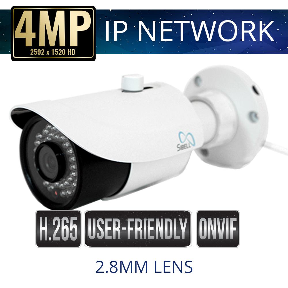 IPOB-SB2IRE28 | 2MP Economy IP Bullet Camera | Sibell Technology