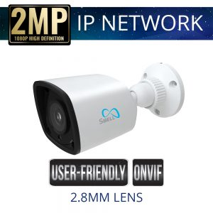 2.8mm 2mp Economy IP Bullet Camera Weatherproof with IR