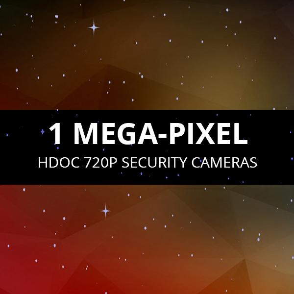 720p HDOC Security Cameras