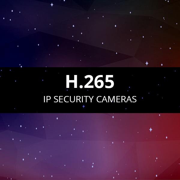 H.265 Security Cameras