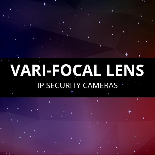 Varifocal Lens IP Cameras