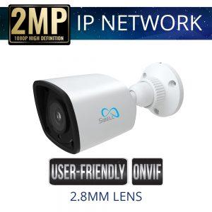 2.8mm 2mp Economy IP Bullet Camera Weatherproof with IR